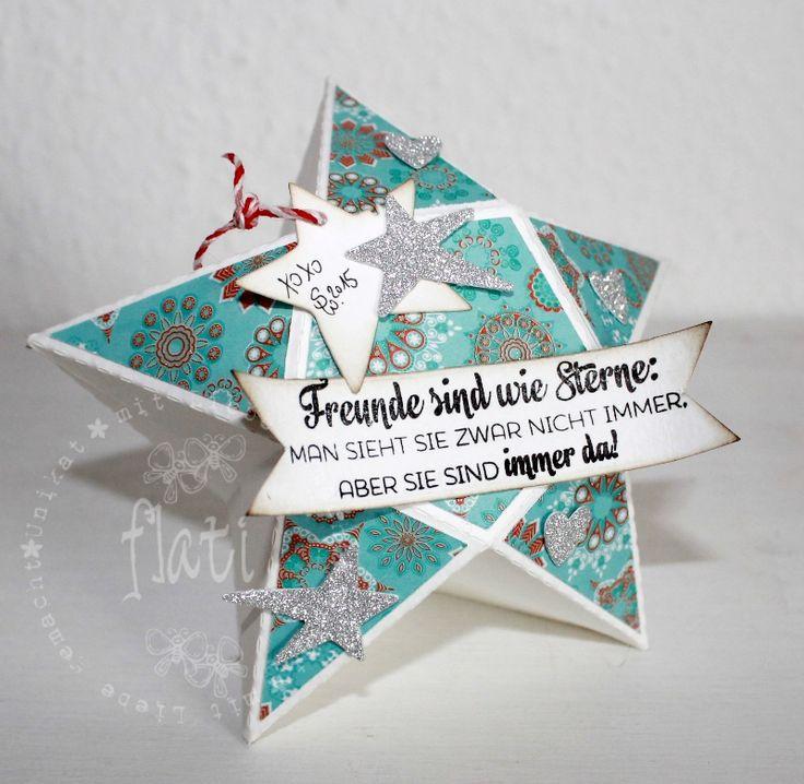 ♥ Flati s Stempelwelt ♥: Seme Challenge #69 Sterne plus freebie