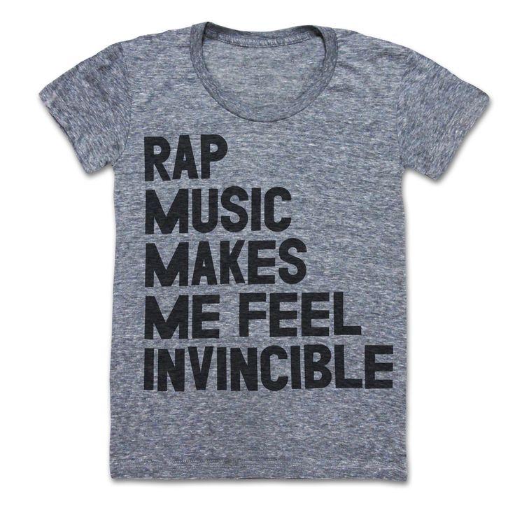 Rap Music Makes Me Feel Invincible