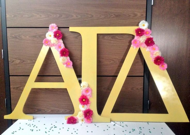 alpha gam gold and flower letters alphagammadelta alphagam agd