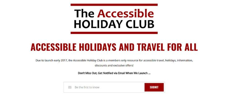 The Accessible Holiday Club