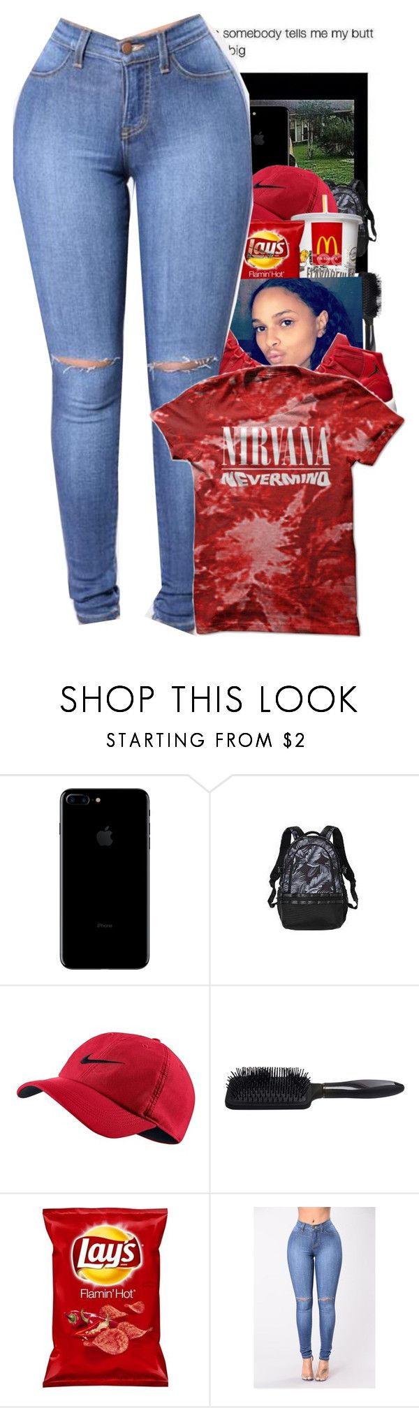 """""""Nirvana"""" by miniboogie ❤ liked on Polyvore featuring NIKE and Brilliance New York"""