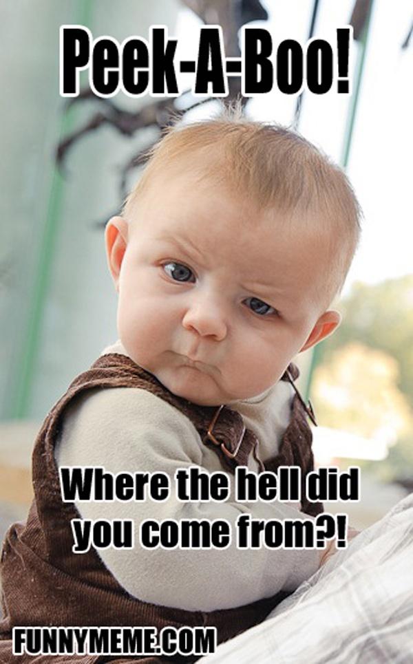 Skeptical Baby Meme (20 Pics)