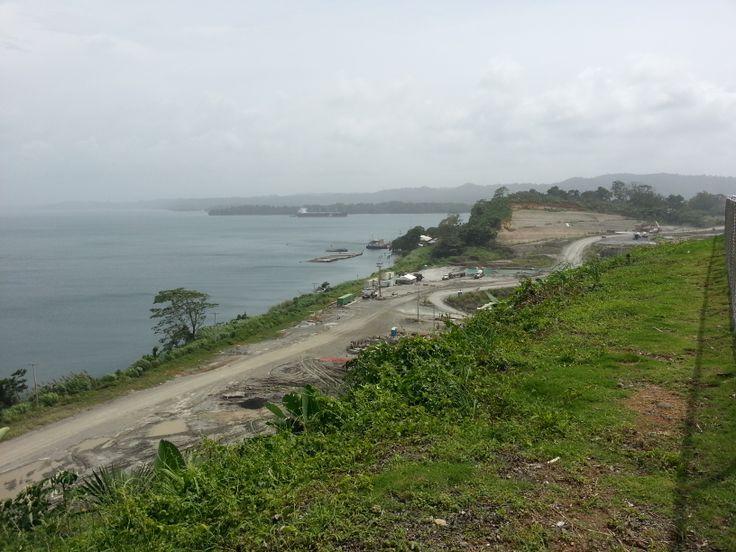 Vista al lago Gatun desde la terraza del #RestauranteGatun del #HotelElPanama