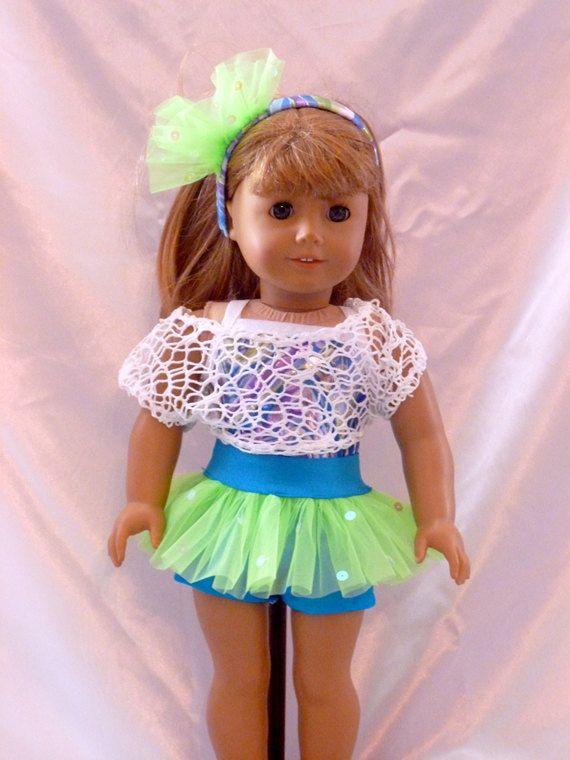 56cd0029c980b A little Hip HopDance Costume for an 18 inch by DancinDollsDesigns, $25.00    American girl   American girl crafts, Girls dance costumes, Girl doll  clothes