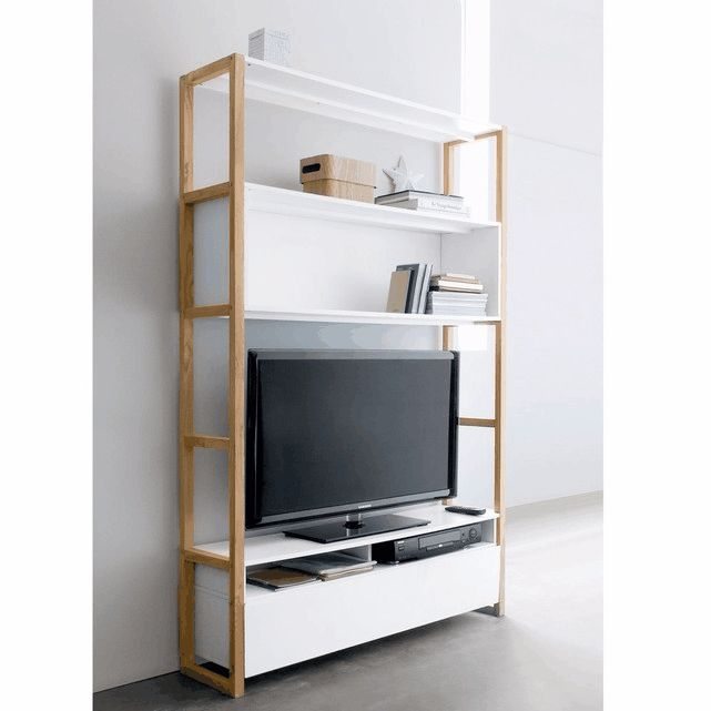20 best Meubles TV HI-FI images on Pinterest Vinyls, Furniture and - meuble tv home cinema integre watts