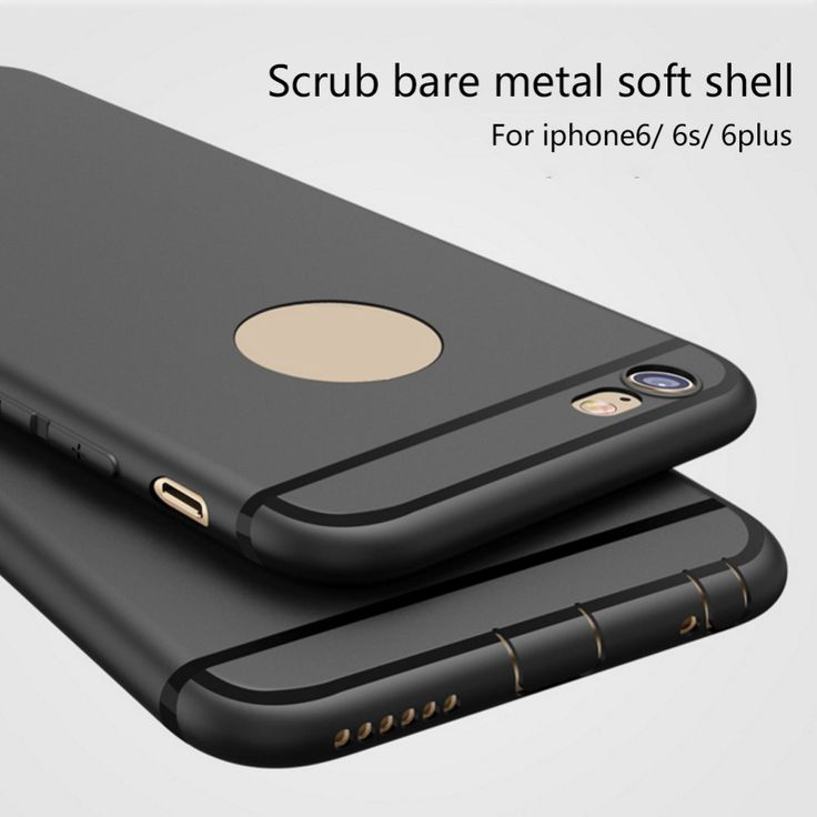 >> Click to Buy << Scrub TPU Cover Case Soft Rubber Mobile Phone Protective Case luxury Cover with Dust Plug for iPhone5 5s SE 6 6s 6splus 6Plus #Affiliate