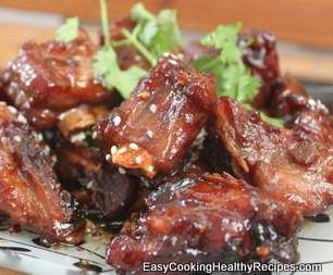 Recipe Braised Pork Ribs Using Thermomix by EasyCookingHealthyRecipes - Recipe of category Main dishes - meat