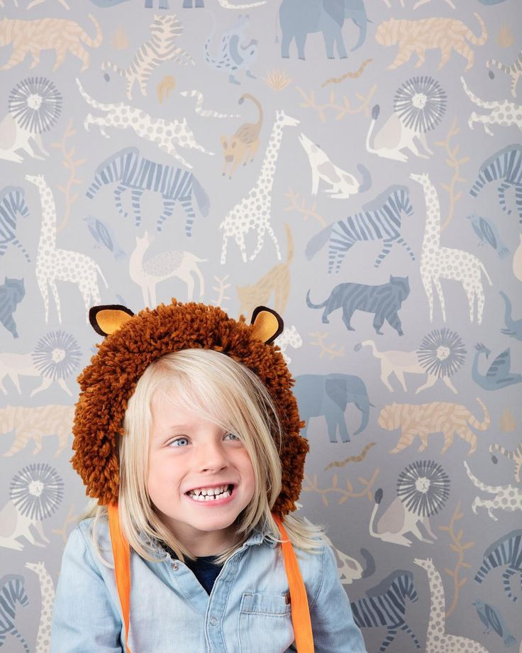 "Latest The Modern Nursery on Instagram: ""BEST SELLER! 🦒 // Is this set to be the most popular Wallpaper this year?! We cannot keep up with the orders! The perfect amount of…"" 2"