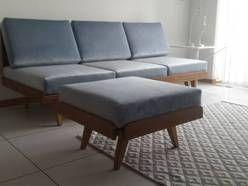 sofa PRL, loft, vintage, retro, lata 60 jak Bumerang