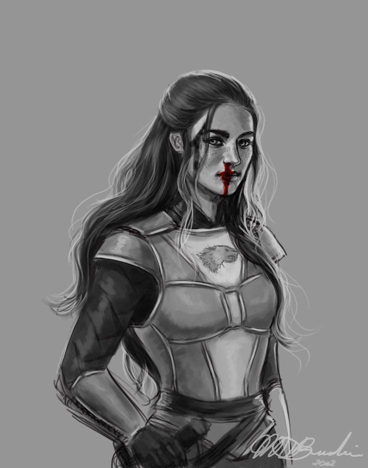 Lyanna Stark, Wolf Hearted by aqvarelles on deviantART