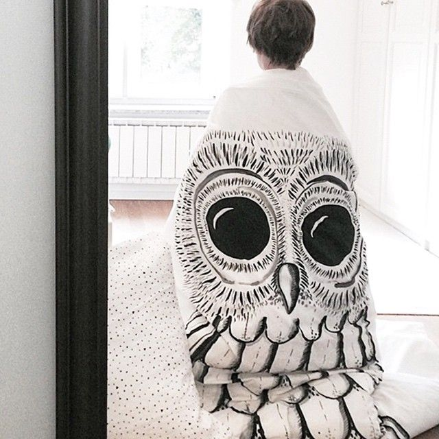 Someone is getting in touch with their inner owl today. Whoo hoo! by @lovescandinavian