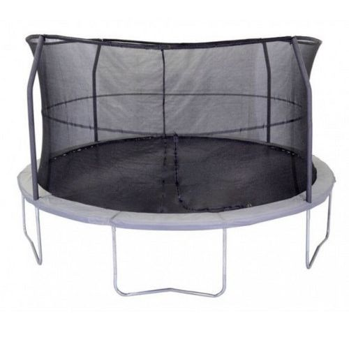 Jumpking 15 FT Trampoline Round Orbounder with Safety Enclosure Net