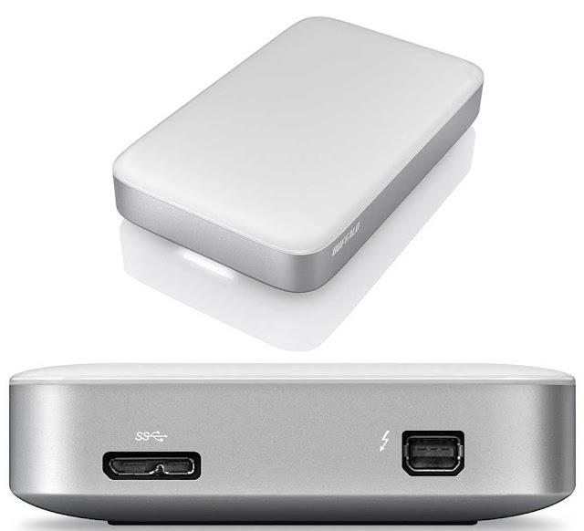 Buffalo HD-PATU3 con USB3.0 y Thunderbolt