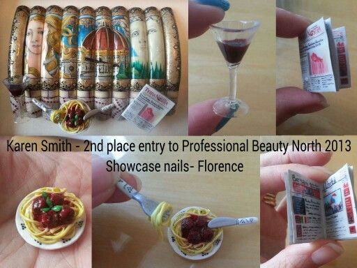 88 best nail art competition nails images on pinterest my 2nd place entry to professional beauty north 2013 showcase nails competition theme florence prinsesfo Images