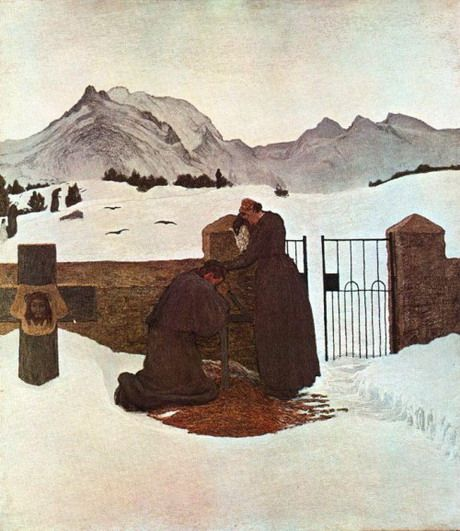 File:The Pain Comforted by Faith by Giovanni Segantini.jpg