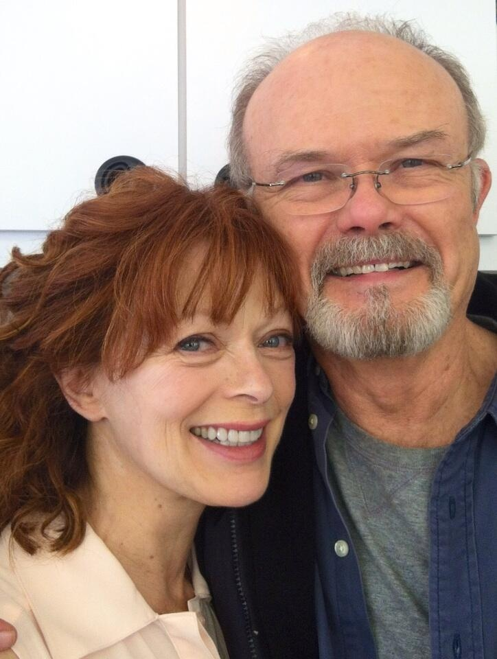 "Photo of Frances Fisher and Kurtwood Smith, now TV husband and wife as two of THE RETURNED's central characters ""Harold and Lucille."" Can't imagine better actors for the part! #thereturned"