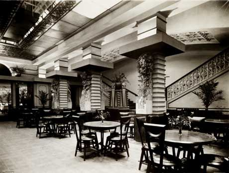 Banquet Hall, Cafe Australia - Melbourne 1917