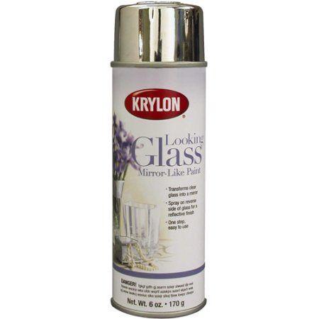 Krylon Looking Glass Mirror-Like Spray Paint 6 oz, #9033