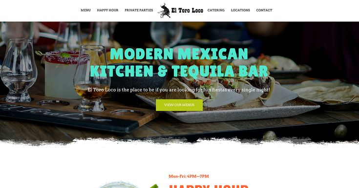 El Toro Loco 80 Washington St Bloomfield Nj A Fiesta Every Night Modern Mexican Cuisine 100s Of Bottles O Happy Hour Specials Tequila Bar Tequila Bottles