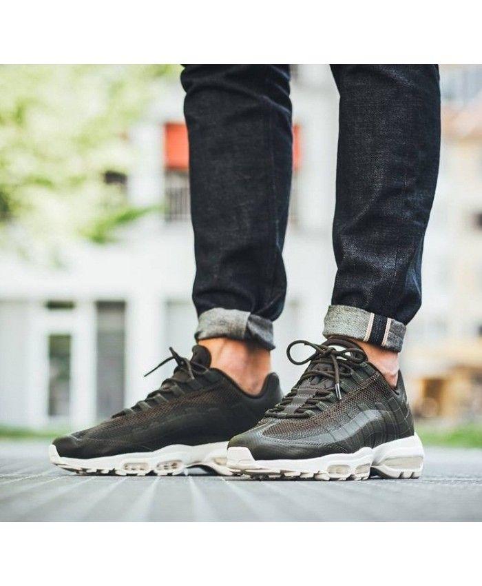 detailed look 1f618 966f2 Nike Air Max 95 Ultra Essential Cargo Khaki Shoes