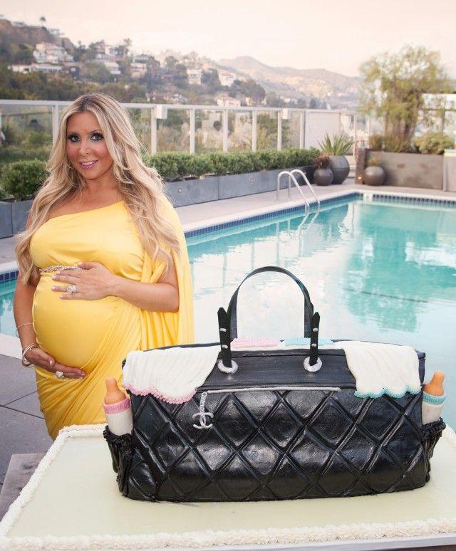Anya Sarre's Chanel diaper bag cake