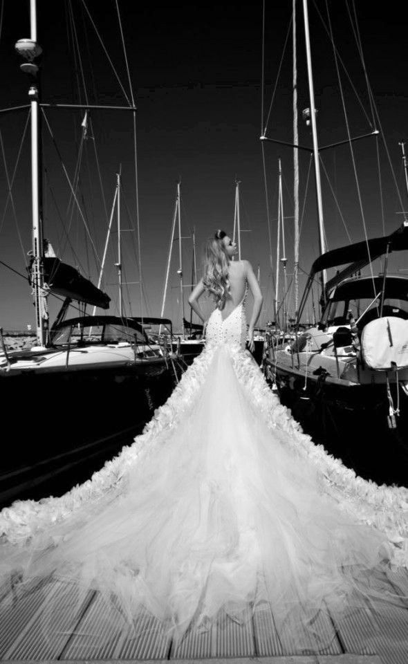 GALIA LAHAV WEDDING DRESS 2013 /2014 COLLECTION Stunning Photo