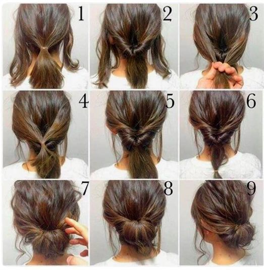 Sometimes it's hard to come up with ideas for a good hairstyle – espesially when it's for a more styled occation, like a wedding or more formal party. I just found this super easy step-by-step guide o #WeddingHairstyles