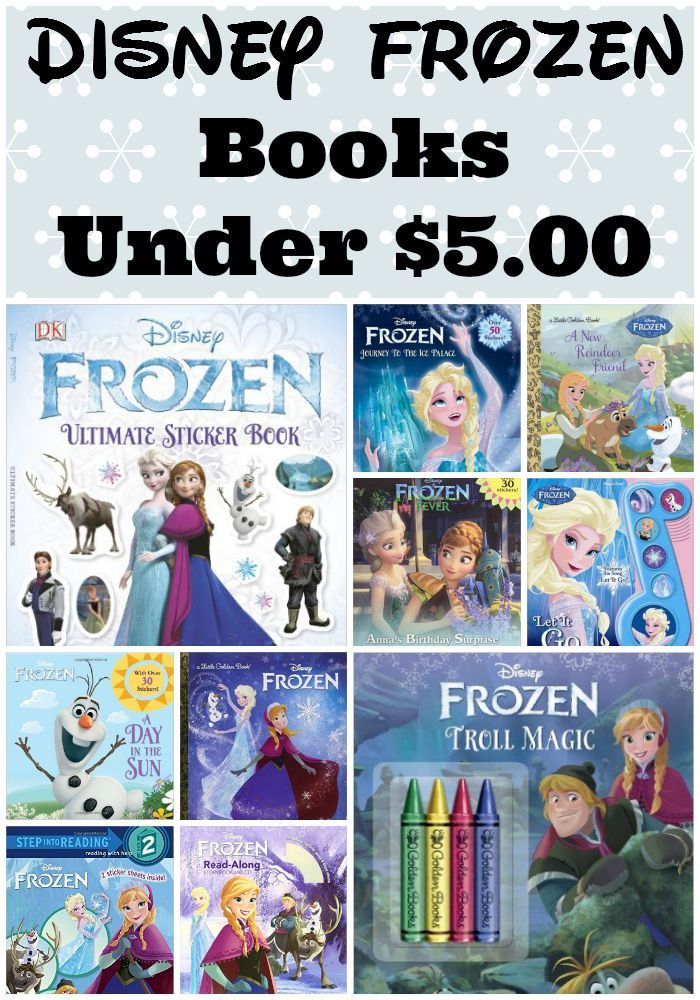 Disney Frozen Picture Books Under $5! Perfect gifts for Frozen lovers and to keep them reading!