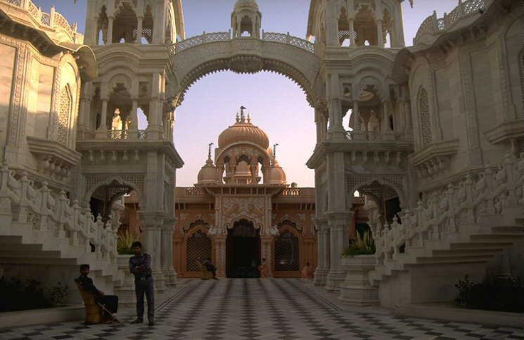Krsna Balaram ISKCON Temple- Vrndavan, India