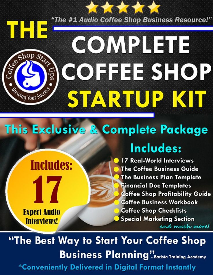 How to start a coffee shop how to open a coffee business