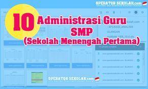 10 Administrasi SMP untuk KBM (Kegiatan Belajar Mengajar)