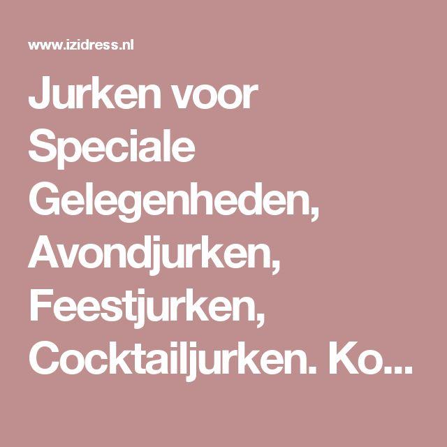 Jurken voor Speciale Gelegenheden, Avondjurken, Feestjurken, Cocktailjurken. Koop goodkope avondjurken, avondjapon, cocktailjurken feestjurken online  at IZIDRESS.nl