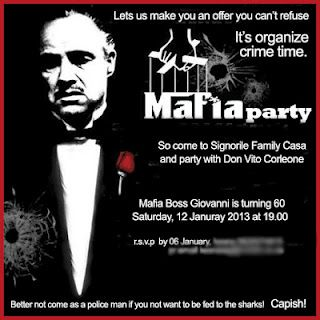 Hi friends we r planing to celebrate 31 december night in mafia style if u r…