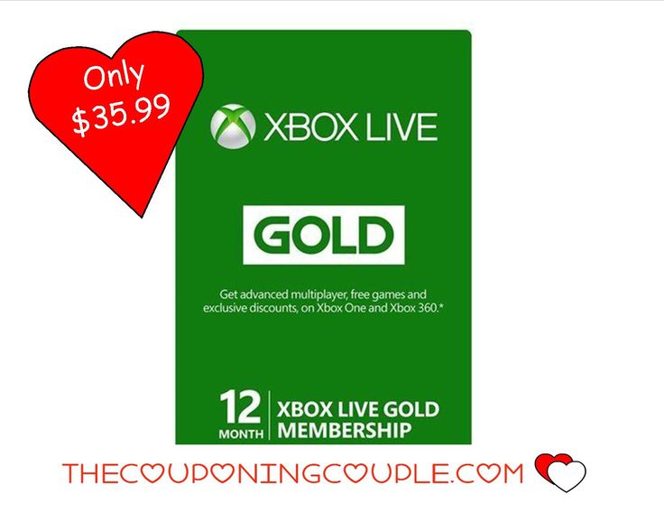Save $24 on an XBOX Live Gold 12 Month Membership! Only $35.99 shipped!! Cheapest price around for this must-have!  Click the link below to get all of the details ► http://www.thecouponingcouple.com/12-month-xbox-live-gold-membership-only-35-99-shipped/  #Coupons #Couponing #CouponCommunity  Visit us at http://www.thecouponingcouple.com for more great posts!