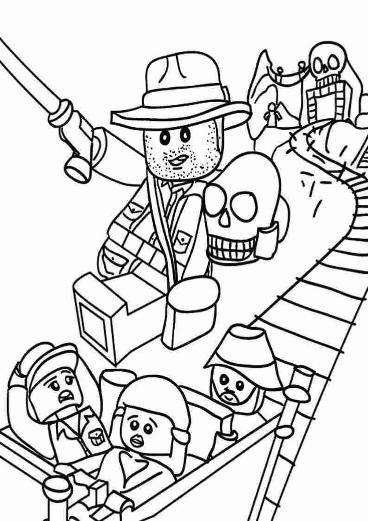 Coloring Book: Free lego indiana jones coloring pages ...
