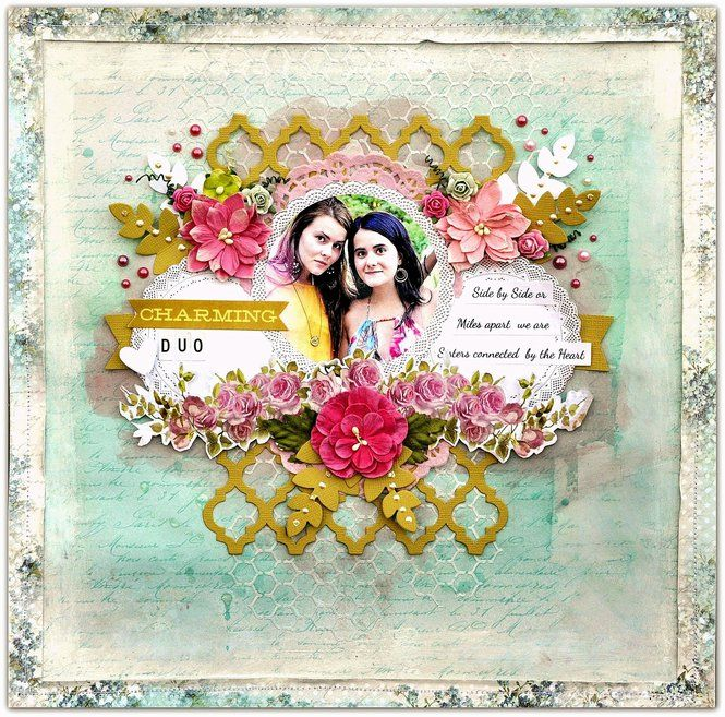 Layout: Charming Duo for 'Lemoncraft'.
