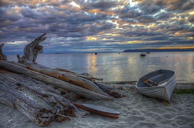 Sunset at Savary Island by The Silent Man_, via Flickr ~ Great Photos here!