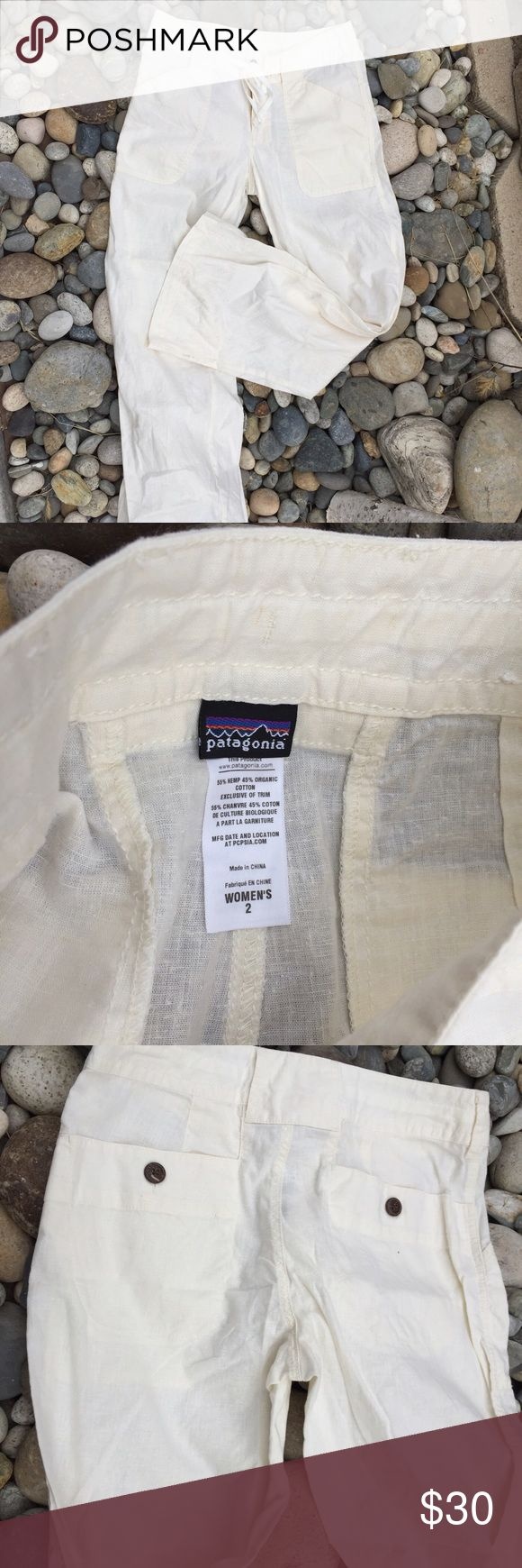Patagonia linen pants NWT Linen Patagonia pants. Button and zipper. Never worn. Patagonia Pants Trousers