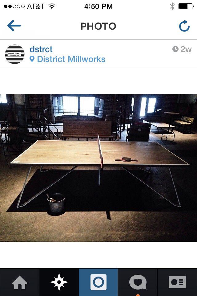 District MFG ping pong