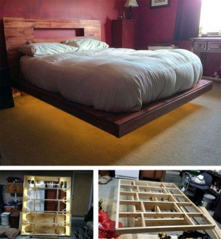35 Good Contemporary Floating Bed Design Ideas Page 19 Of 38 Floating Bed Diy Bed Design Floating Bed