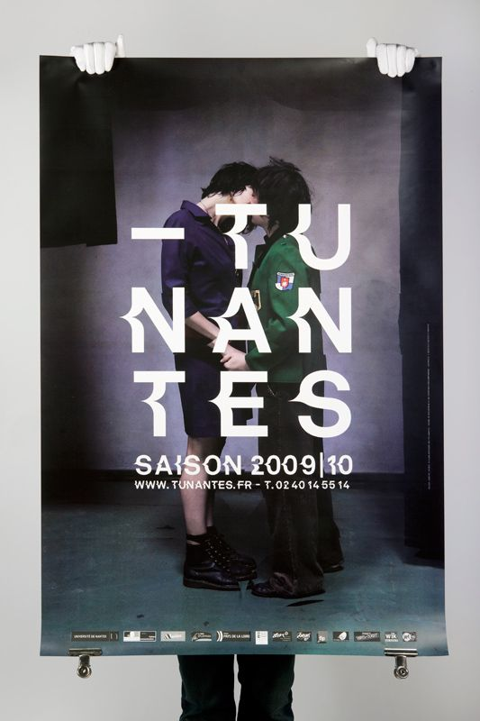 Poster, Type, TU Nantes, by Akatre