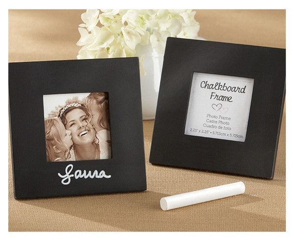 Photos in frames and sentiments change, making this fun frame a wedding favour with charisma!