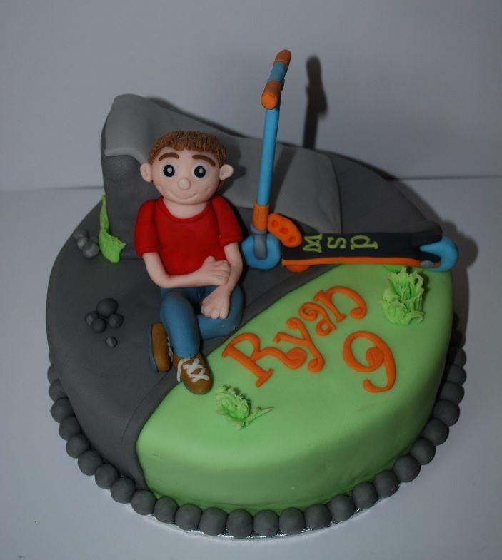 Skate Birthday Cake Ideas