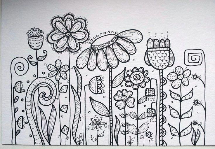 Flower doodle | Flickr -dots 'n' doles