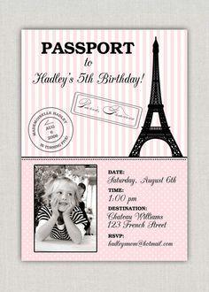 Ideias de convite#Passaporte