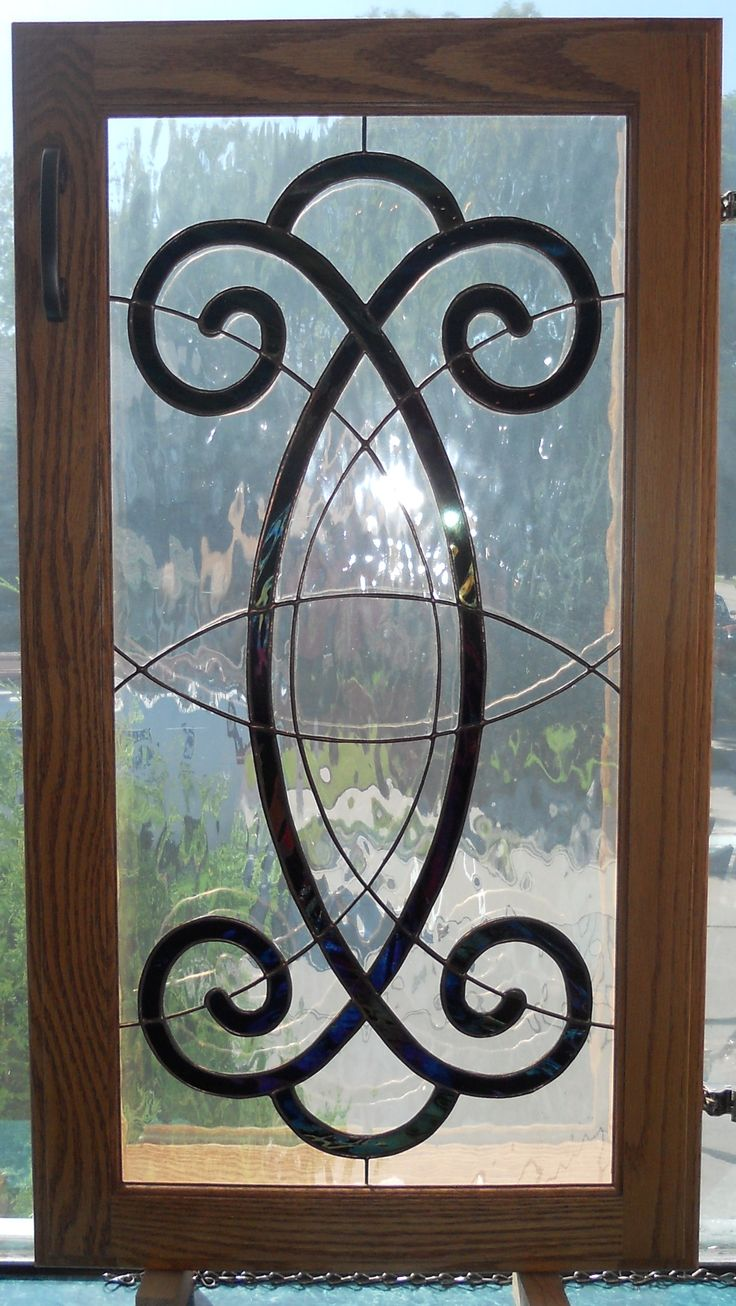 19 best Custom Stained Glass Cabinet Doors images on Pinterest ...