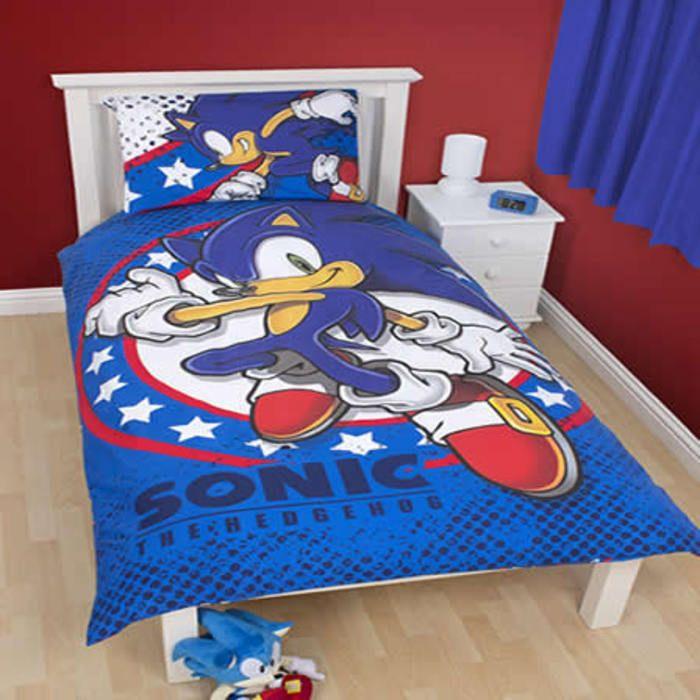 Sonic The Hedgehog Single Bedding   Sprint