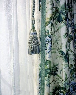 Window Treatments & Custom Fabric Accessories traditional window ...
