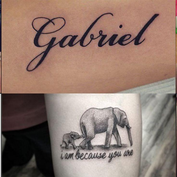 Les 25 meilleures id es de la cat gorie tatouage prenom enfant sur pinterest tatouage prenom - Tatouage bracelet poignet avec prenom ...