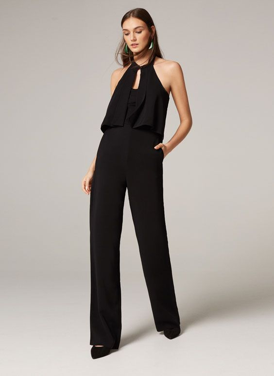 Uterqüe United Kingdom Product Page - Ready to wear - Jumpsuits - Jumpsuit with cape - 145